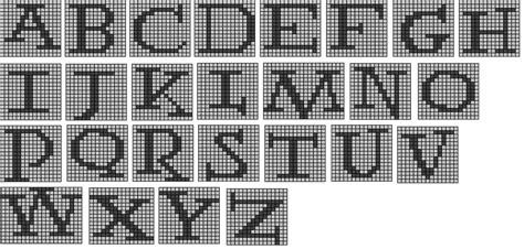 harry potter knitting charts the wandering interrobang nerdy knits potter alphabet