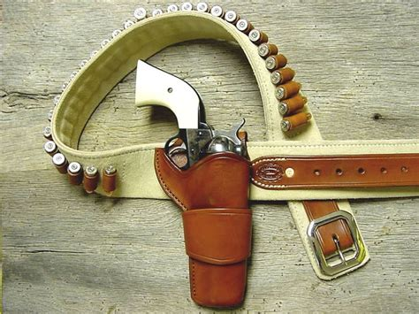 leather gun belt and holster west colt winchester derringer etc on revolvers winchester and lever