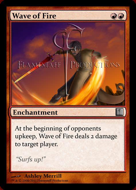 magic card flamestaff xxix magic cards