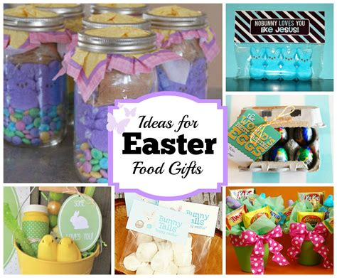 food gifts for presents diy easter food gift ideas celebrating holidays