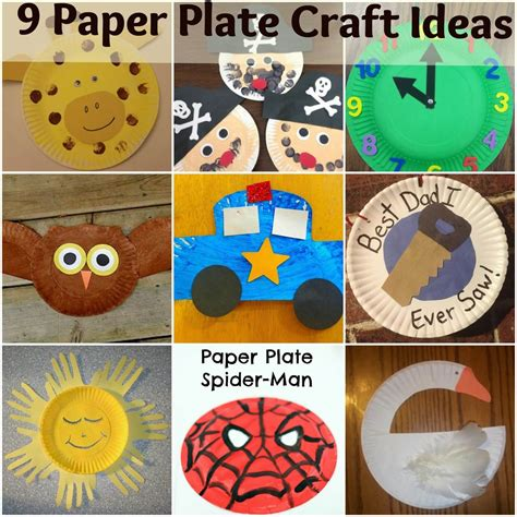 paper plate and craft ideas 9 paper plate craft ideas for mother2motherblog