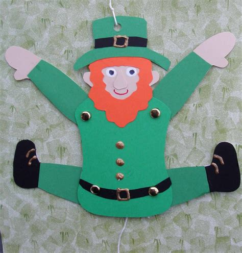 Of Crafts Leaping Leprechaun Craft