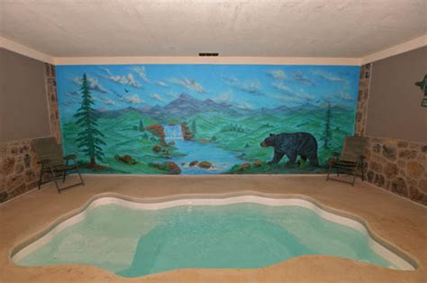 1 Bedroom Cabins In Pigeon Forge Tn cabin with swimming pool in smoky mountains near pigeon