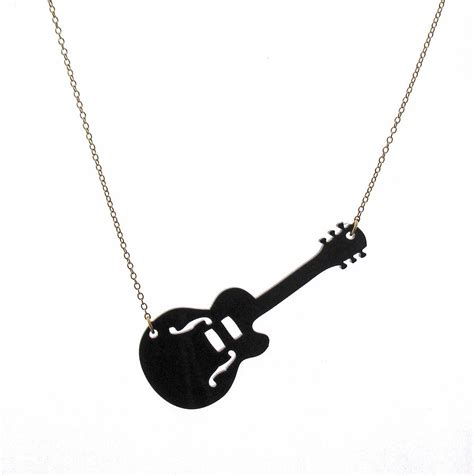 how to make guitar jewelry guitar pendant necklace jewelry by rony bank
