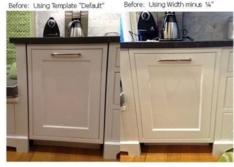 dishwasher kitchen cabinet dishwasher with cabinet front