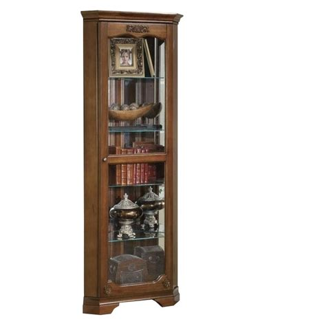door curio cabinet coaster curio cabinet with glass door in cherry 950195