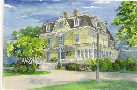 28 house portrait artist cotswold paintings