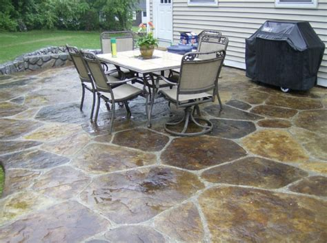 backyard concrete patio designs simple paver patio home design scrappy