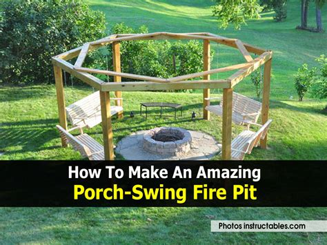 swing pit how to make an amazing porch swing pit