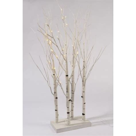 pre lit twig lights pre lit led birch twig tree 90cm tree indoor