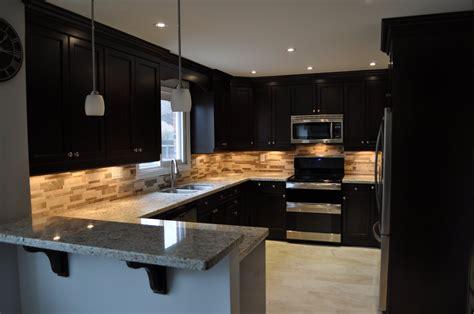 modern black kitchen cabinets kitchen modern kitchen with black island and brown