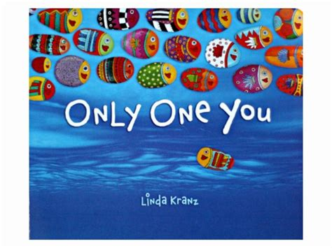 books with only pictures only one you by kranz