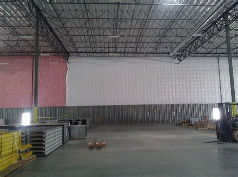 warehouse ceiling foil foil fiberglass insulation installation san bernardino