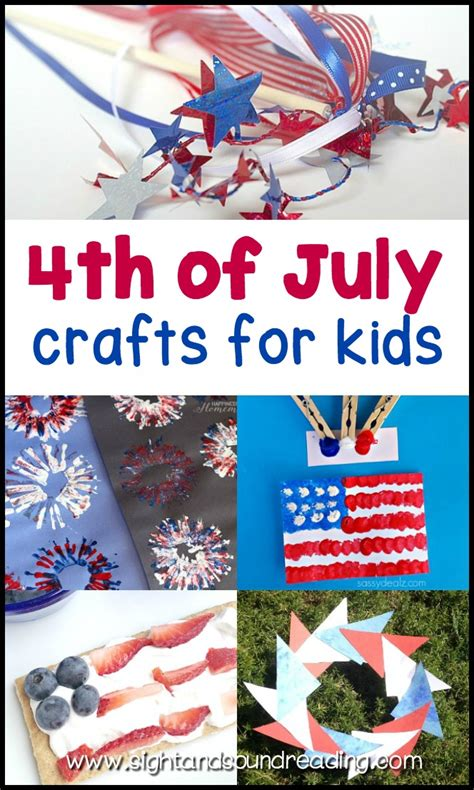 fourth of july crafts for easy fourth of july crafts