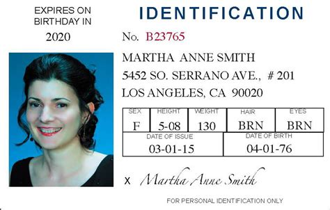 id card pbvfhzeoojlsckx sle of identification cards