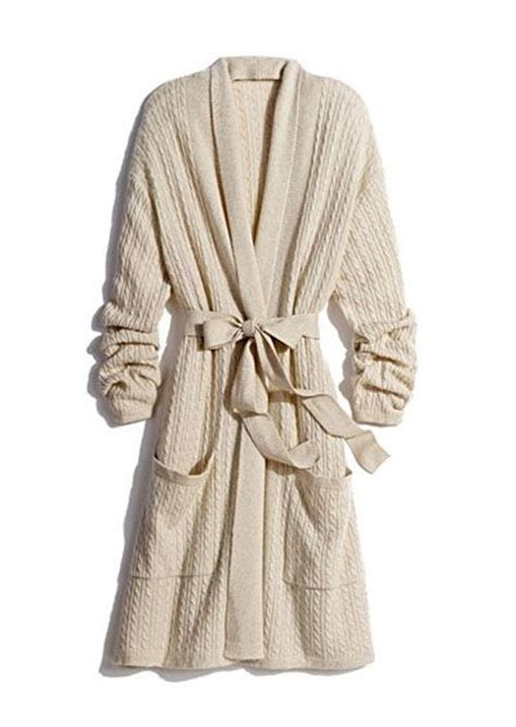cable knit robe cable knit robe sleeping