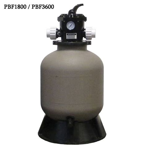 bead filter easypro professional pressurized bead filters without back
