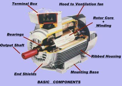 Electric Motor Basics by Electric Motors Basic Components