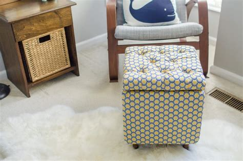 diy ottoman with storage diy tutorial how to make a diy storage ottoman part 1