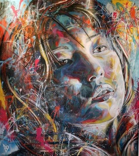 spray painting using brush spray paint portraits without brushes and stencils