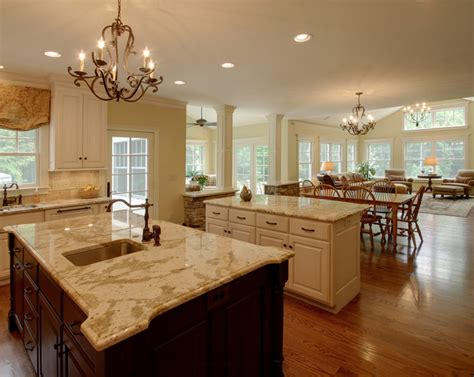 open kitchen and living room design open concept kitchen and living room designs decor