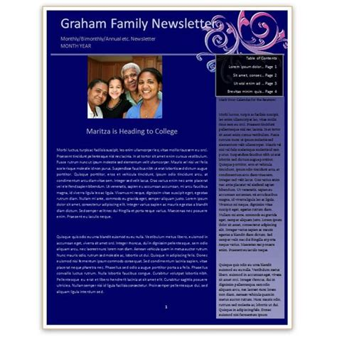 free newsletter templates for word 2007 free newsletter templates for word 2007