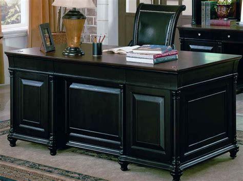 home office executive desks office workspace hekman executive desk for