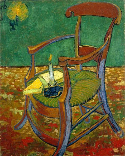 silla de van gogh vincent van gogh la silla de gauguin 1888 el