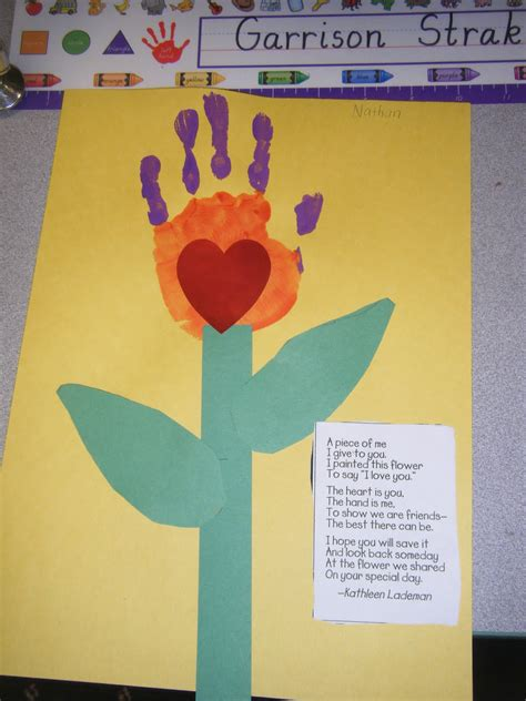 mothers day crafts for handprint