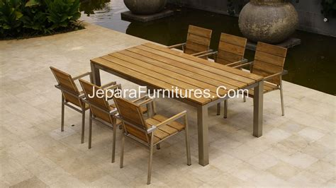 steel patio furniture sets stainless patio furniture chicpeastudio