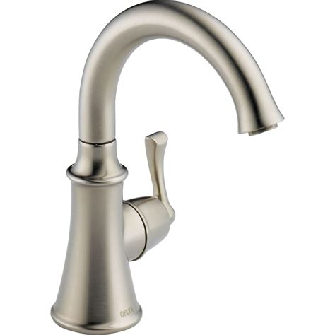 Best Brand Kitchen Faucet delta faucet 1914 ss dst traditional brilliance stainless