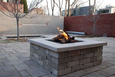firepits gas gas outdoor pit