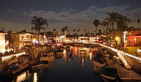 naples california lights naples island boat parade california beaches