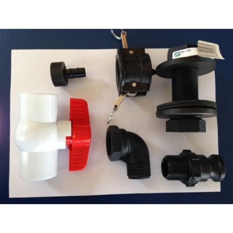 ROLL TANK WASTE H/WARE KIT 25MM