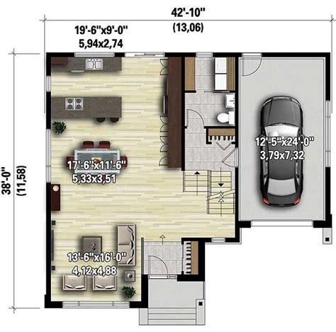 split level contemporary house plan 80789pm 1st floor split level contemporary house plan 80789pm architectural designs house plans