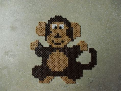 perler monkey pattern 71 best images about monkey perlers on perler