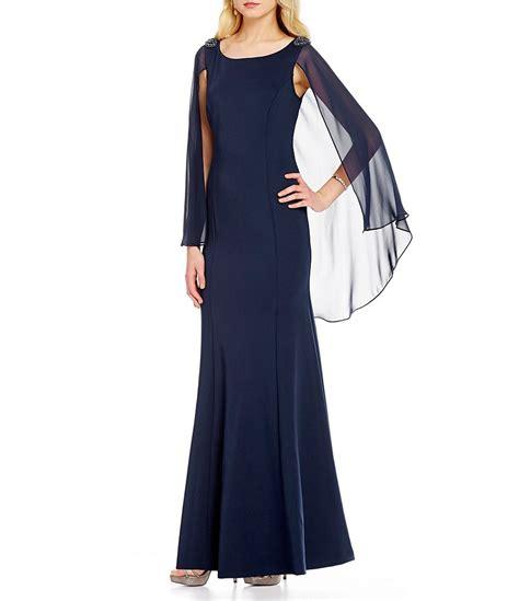 bead trim for dresses s l fashions bead trim sleeveless capelet dress