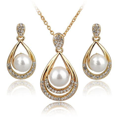 metal sts for jewelry fashion jewelry sets 18k real gold silver plated