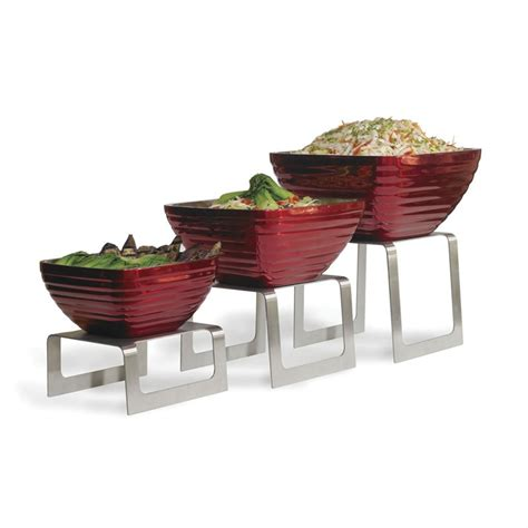 buffet table risers vollrath square buffet risers