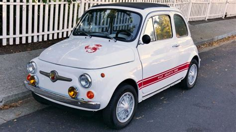 Fiat 500l Abarth by Abarth Style 1970 Fiat 500 L For Sale On Bat Auctions