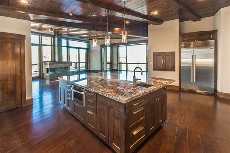 kitchen with center island 53 high end contemporary kitchen designs with