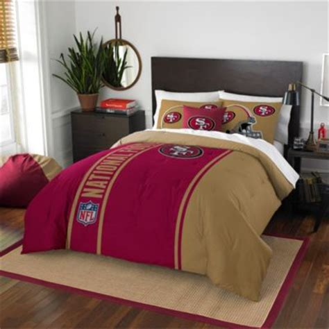 49ers comforter set buy 49ers bedding from bed bath beyond