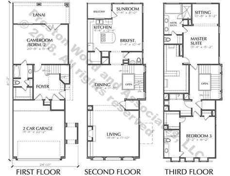 townhome floor plan town house building plan new town home floor plans