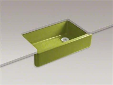 green kitchen sinks whitehaven apron front mount sink in greenwich green