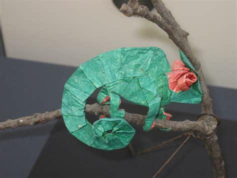 origami chameleon pin origami chameleon folding with 13 step
