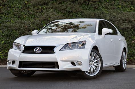 2013 lexus gs 450h w video autoblog