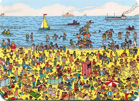 seek and find books pictures where s waldo pennedbypill