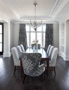 Gray Dining Room Chairs gray dining room with gray medallion curtains