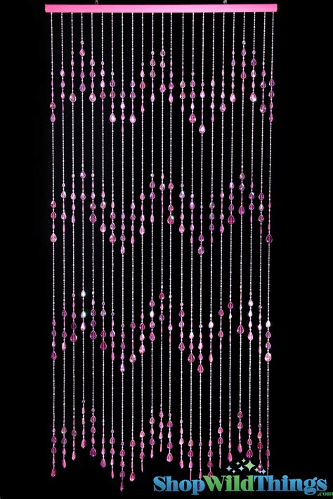 large beaded curtains pink beaded curtains big teardrops acrylic door 6