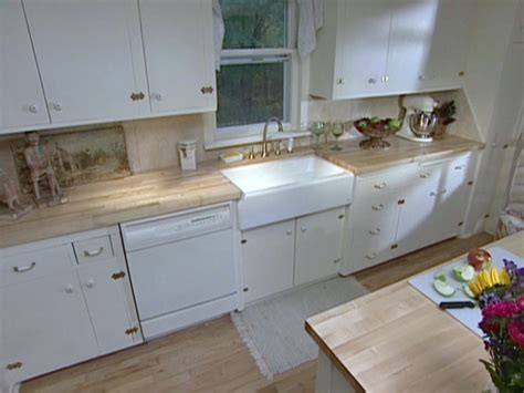 how to install an apron kitchen sink install an apron front sink in a butcher block countertop